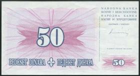 Bosnien & Herzegowina / Bosnia P.043 50 Dinara 1994 (2)