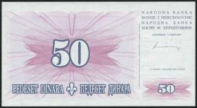 Bosnien & Herzegowina / Bosnia P.043 50 Dinara 1994 (1)