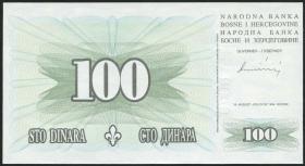 Bosnien & Herzegowina / Bosnia P.044 100 Dinara 1994 (1)