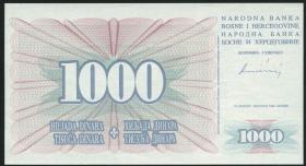 Bosnien & Herzegowina / Bosnia P.046b 1000 Dinara 1994 (1)