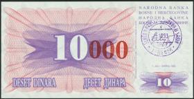 Bosnien & Herzegowina / Bosnia P.053b 10000 Dinara 1993 (1)
