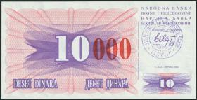 Bosnien & Herzegowina / Bosnia P.053d 10000 Dinara 1993 (1)