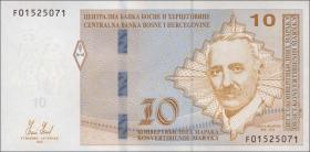 Bosnien & Herzegowina / Bosnia P.081a 10 konv. Marka 2012 (1)