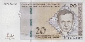 Bosnien & Herzegowina / Bosnia P.082a 20 konv. Marka 2012 (1)