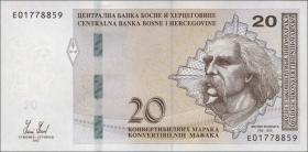 Bosnien & Herzegowina / Bosnia P.083a 20 konv. Marka 2012 (1)