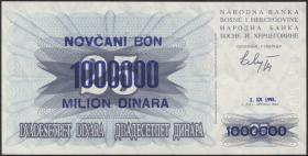 Bosnien & Herzegowina / Bosnia P.035a 1.000.000 Dinara 1.9.1993 (1)