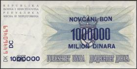 Bosnien & Herzegowina / Bosnia P.035b 1.000.000 Dinara 10.11.1993 (1)
