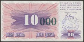 Bosnien & Herzegowina / Bosnia P.053a 10000 Dinara 1993 (1)
