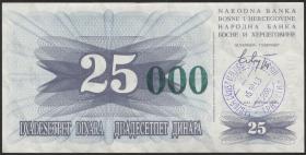 Bosnien & Herzegowina / Bosnia P.054a 25000 Dinara 1993 (1)