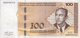 Bosnien & Herzegowina / Bosnia P.neu 100 Konver. Marka 2017 (1)