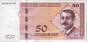 Bosnien & Herzegowina / Bosnia P.085b 50 Konver. Marka 2017 (1)