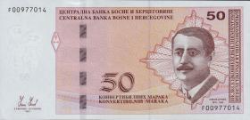 Bosnien & Herzegowina / Bosnia P.085a 50 konv. Marka 2012 (1)