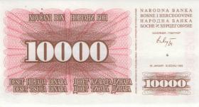 Bosnien & Herzegowina / Bosnia P.017a 10.000 Dinara 1993 (1)
