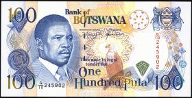 Botswana P.16a 100 Pula (1992) (1)