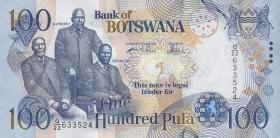 Botswana P.29b 100 Pula 2005 (1)