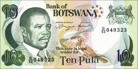 Botswana P.12a 10 Pula (1992) (1)