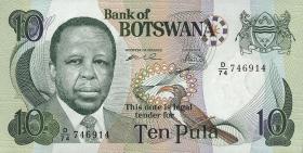 Botswana P.20b 10 Pula (1999) (1)