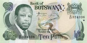 Botswana P.24b 10 Pula 2007 (1)