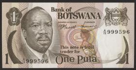 Botswana P.01 1 Pula (1976) (1)