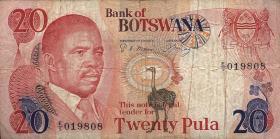 Botswana P.10a 20 Pula (1982) (4)