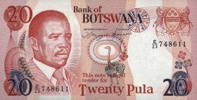 Botswana P.13a 20 Pula (1992) (1)