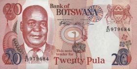 Botswana P.21a 20 Pula (1999) (1)