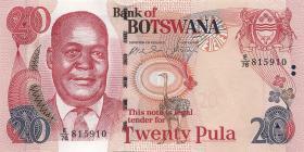 Botswana P.27b 20 Pula 2006 (1)