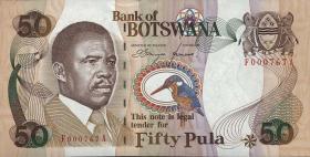 Botswana P.14a 50 Pula (1992) (1)