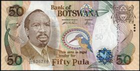 Botswana P.22 50 Pula (2000) (1)