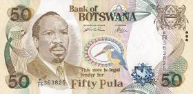 Botswana P.28 50 Pula 2005 (1)