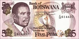 Botswana P.11a 5 Pula (1992) (1)