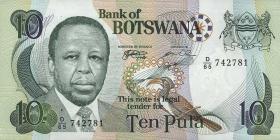 Botswana P.20a 10 Pula (1999) (1)