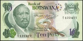 Botswana P.04b 10 Pula (1976) (2)