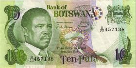 Botswana P.09c 10 Pula (1982) (3)