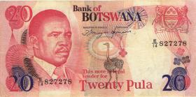 Botswana P.10d 20 Pula (1982) (3)