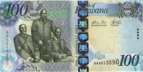 Botswana P.33a 100 Pula 2009 (2)
