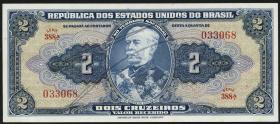 Brasilien / Brazil P.133  2 Cruzeiros (1944) (1)