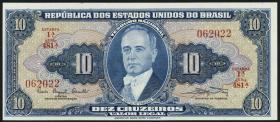 Brasilien / Brazil P.167a 5 Cruzeiros (1961) (1)