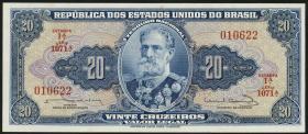 Brasilien / Brazil P.168b 20 Cruzeiros (1963) (1)