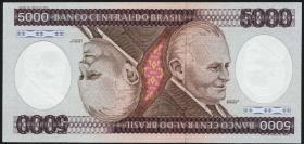 Brasilien / Brazil P.202 5000 Cruzeiros (1984) (1)