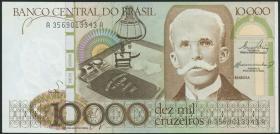 Brasilien / Brazil P.203a 10000 Cruzados Novos (1984) (1)