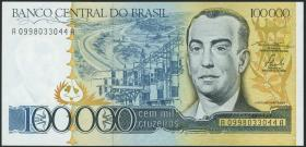 Brasilien / Brazil P.205 100.000 Cruzados Novos (1984) (1)