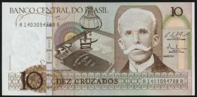 Brasilien / Brazil P.209 10 Cruzados (1986) (1)