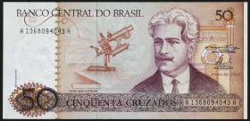 Brasilien / Brazil P.210 50 Cruzados (1986) (1)
