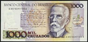 Brasilien / Brazil P.213 1000 Cruzados (1988) (1)