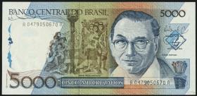 Brasilien / Brazil P.214 5000 Cruzados (1988) (1)