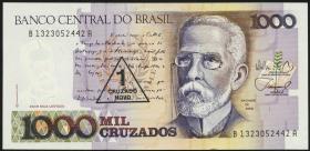 Brasilien / Brazil P.216 1 Cruzado Novo (1989) (1)