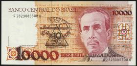 Brasilien / Brazil P.218 10 Cruzados Novos (1990) (1)