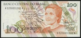 Brasilien / Brazil P.220 100 Cruzados Novos (1989) (1)