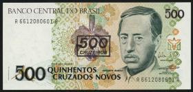 Brasilien / Brazil P.226 500 Cruzados (1990) (1)